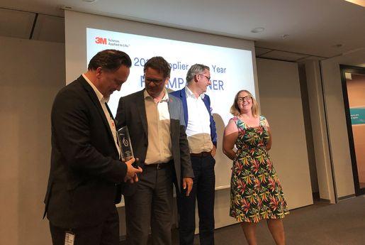 FoamPartner receives 3M service prize | FoamPartner