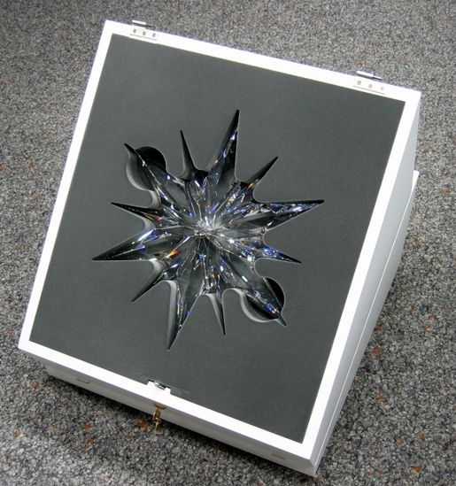 Sales Packaging, e.g. for Jewellery or Crystal Glass