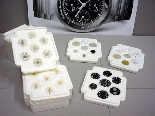 Tailor-made PE-Foam-Trays, e.g. for Watch Parts