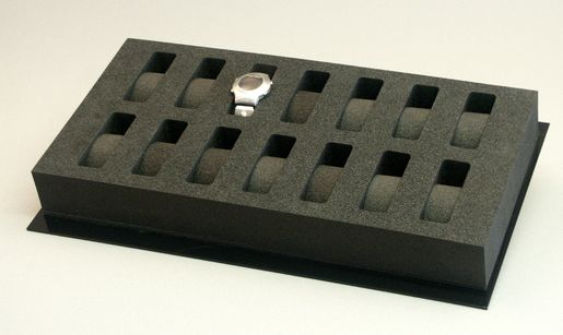 PE-Foam-Trays, e.g. for Watches