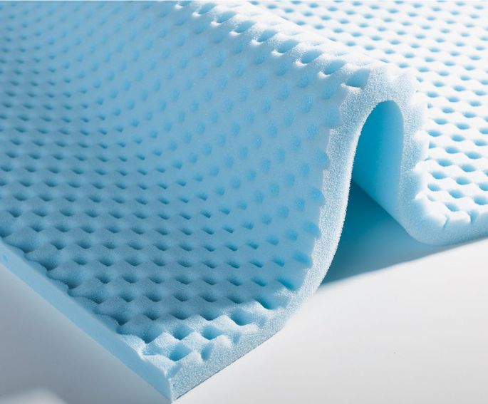Premium mattress toppers and pillow components