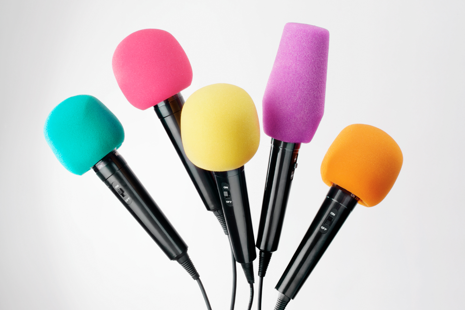 Microphone Windshields in all Colors